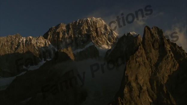 mont blanc coté italien