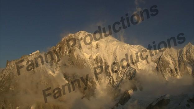 Mont blanc de bas en haut