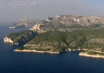 Les Calanques vue depuis Cassis